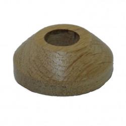 Rosace Chêne Verni 18 mm