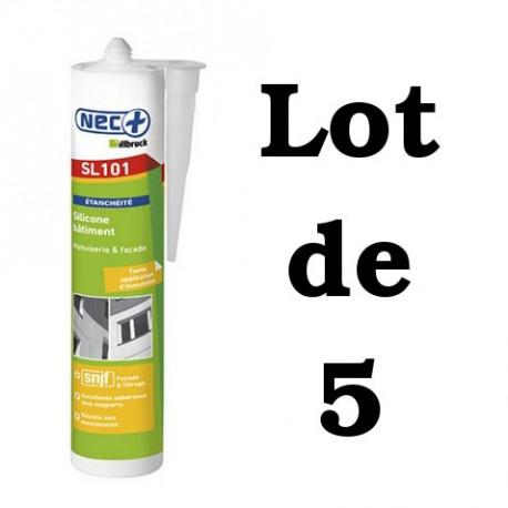 Silicone Bâtiment Nec+Illbruck SL101