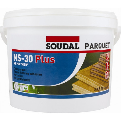 Colle parquet Soudal MS-30 PLUS