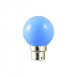 LED 0.8 WATT BULB B22 BLEUE BOITE