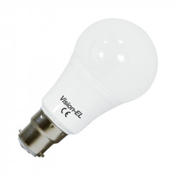 LED 9 WATT BULB B22 3000°K BLISTER