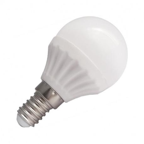 LED 6 WATT P45 BULB E14 3000°K BLISTER