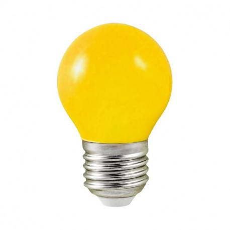 LED 1 WATT BULB E27 JAUNE BLISTER