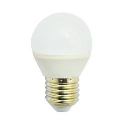 LED 6 WATT G45 BULB E27 3000°K CERAMIC DEPOLI BLISTER 100-250V