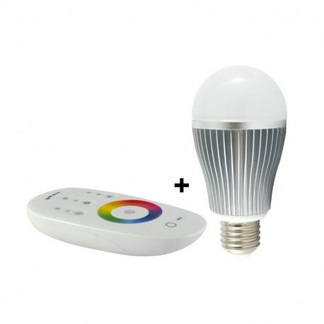LED 7 WATT BULB E27 RGB