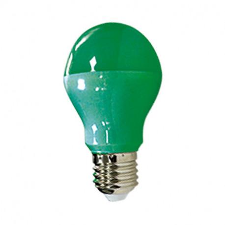 LED 9 W BULB E27 GREEN BLISTER