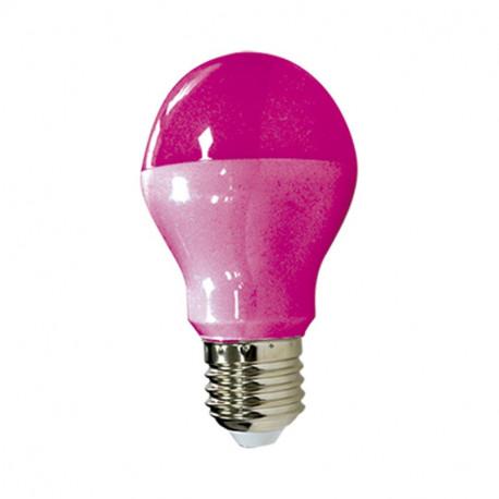 LED 9 W BULB E27 PINK BLISTER