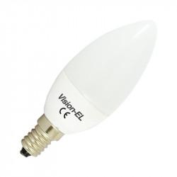 LED 4 WATT FLAMME E14 6000°K CERAMIC BLISTER