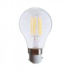 LED FIL COB BULB B22 8W 2700°K CLAIRE BLISTER