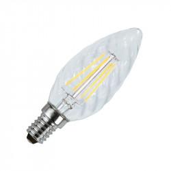 LED FIL COB TORSADE E14 4W 2700°K CLAIRE BLISTER