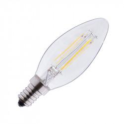 LED FIL COB FLAMME E14 4W 2700°K CLAIRE BLISTER