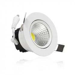 LED 7 WATT COB SPOT PLAFOND 6000°K BOITE