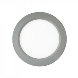 LED PLAFOND DIAM 180 12 Watt ALU 3000°K