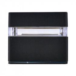 APPLIQUE MURAL LED 3W 230V 3000°K ANTHRACITE IP54 PLAT