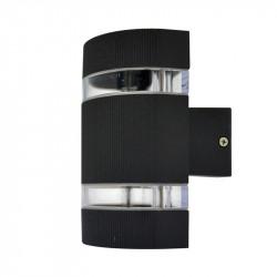 APPLIQUE MURAL LED 6W 230V 3000°K ANTHRACITE IP54 ARRONDI