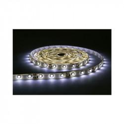BANDE LED BLANC 6000°K 5 M 60 LEDS ET 4.8 W / M IP67 12V SILICON