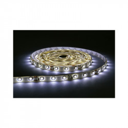 BANDE LED BLANC 6000°K 5 M 60 LEDS ET 4.8 W / M IP20 12V