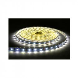 BANDE LED BLANC 4000°K 5 M 60 LEDS ET 4.8 W / M IP20 12V
