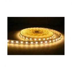 BANDE LED BLANC 2700°K 5 M 60 LEDS ET 4.8 W / M IP65 12V EPOXY