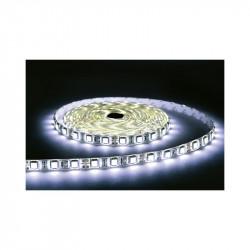 BANDE LED BLANC 6000°K 5 M 30 LEDS ET 7,2 W / M IP67 12V SILICON