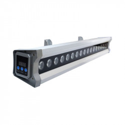 LED WALL WASHER IP65 ALU DMX 20 Watt 230V 3000°K