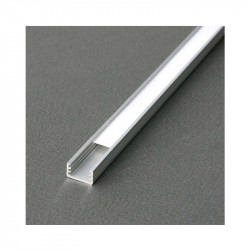 PROFILE LED FIN 1000MM ANODISE*