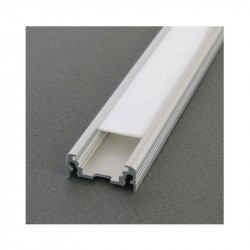 PROFILE LED PLAT 2000MM ANODISE*