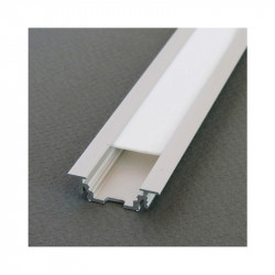 PROFILE LED RAINURE 1000MM ANODISE*