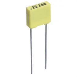 Condensateur polyester 22nF 100V