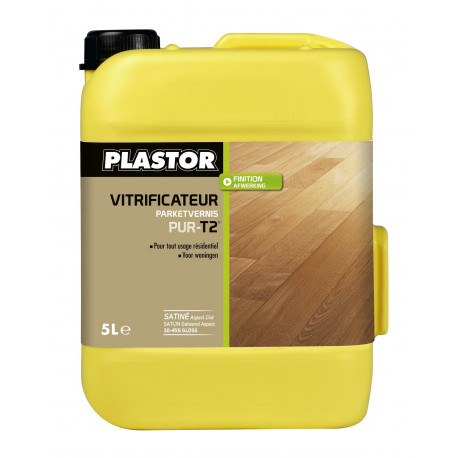 Vernis Extra Mat Plastor Pur-T2 échantillon 125ml