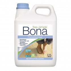 Nettoyant Bona hypoallergénique Free & Simple en Bidon de 2,5L