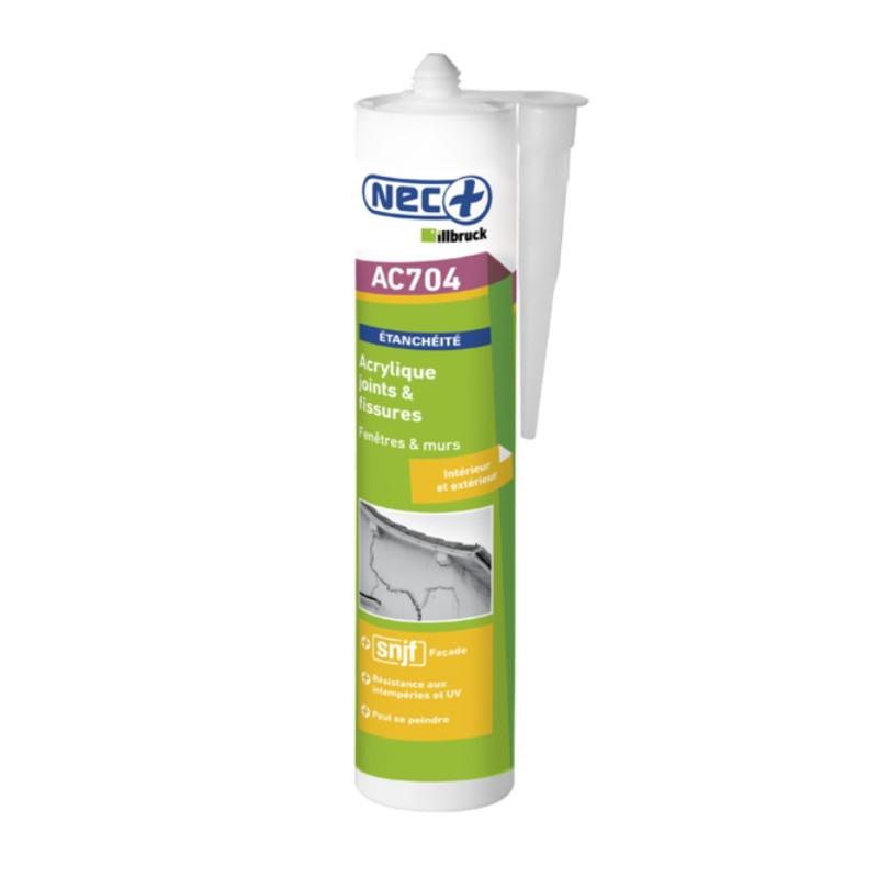 Mastic acrylique nec illbruck ac704 peut se peindre - Joint acrylique a peindre ...