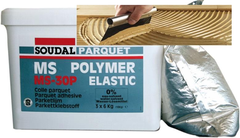 Colle pour parquet MS Polymer Soudal